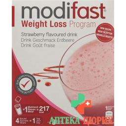 Moдифаст программа потери веса клубника напиток 8x55 грамм