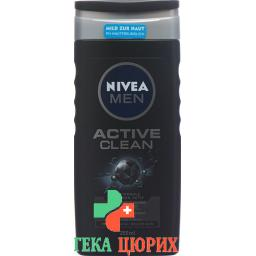 Nivea Men гель для душа Active Clean 250мл
