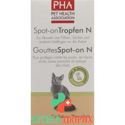 Pha Spot-On капли N fur Katzen 3 ампулы a 1.5мл