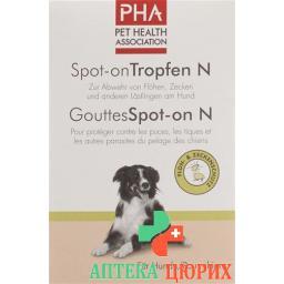 Pha Spot-on капли N fur Hunde 4 ампулы a 2мл