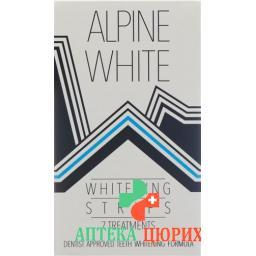 Alpine White Whitening Strips fur 7 Anwendungen