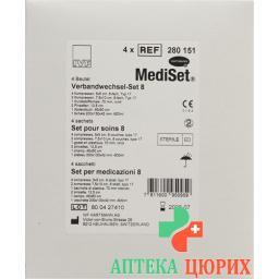 Mediset Verbandwechsel Set No 8 4 пакетика
