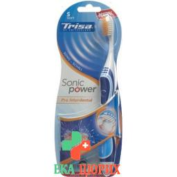 Trisa Sonic Power Akku Pro Inderdental Soft