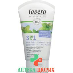 Lavera 3in1 Reinigung Peeling Maske 125мл