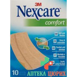 3M Nexcare пластырей Comfort Bands 6x10см 10 штук