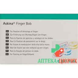 Askina Finger Bob Farbig 50 штук