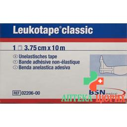 Leukotape Classic unelastische бинт 10m x 3.75см Weiss