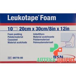 Leukotape Foam Polstermaterial 20x30см 10 штук