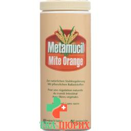 МетамуцилН Мите порошок Апельсин 283 г