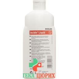 Incidin жидкость Flachendesinfektion бутылка 1л