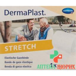 Dermaplast Stretch марлевый бинт Weiss 4смx10м