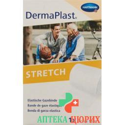Dermaplast Stretch марлевый бинт Weiss 8смx10м