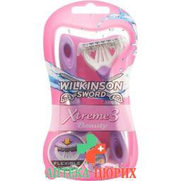 Wilkinson Xtreme Iii Beauty 3 Kling Einwegra 4 штуки