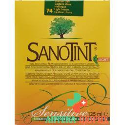 Sanotint Light цвет волос 74 Hellbraun