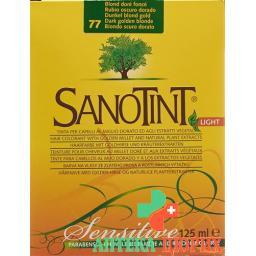 Sanotint Light цвет волос 77 Dunkelblond Gold