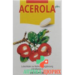 Acerola Plus Vitamin C Lutsch-Taler 60 штук