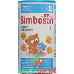 Бимбосан Супер Премиум 2 молочная смесь второго уровня банка 400 грамм