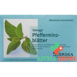 Сидрога листья мяты перечной чай 20 пакетиков