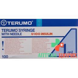 Terumo U-100 Insulin-Spritzen 26г 12x0.45мм 1мл