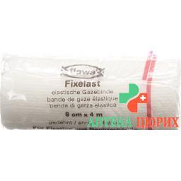 Flawa Fixelast марлевый бинт 4мX8см Weiss Cellux