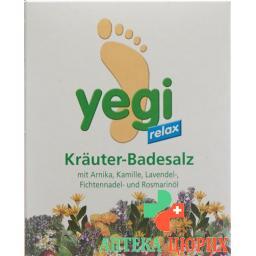 Yegi Relax Krauter Fussbadesalz 4 пакетика a 50г
