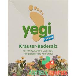 Yegi Relax Krauter Fussbadesalz 8 пакетиков a 50г