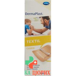 Dermaplast Textil Centro 4смx6см телесный цвет 100 штук