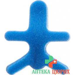 Omnimed Dalco Frog Fingerschiene размер M Silber Blau