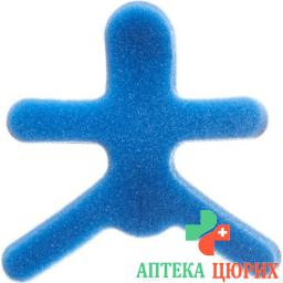 Omnimed Dalco Frog Fingerschiene размер L Silber Blau