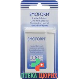 Emoform Zahnholzer 100 штук