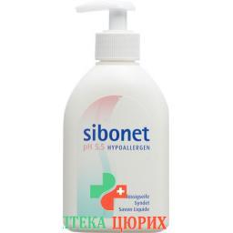 Sibonet Flussigseife pH 5.5 Hypoaller диспенсер 250мл