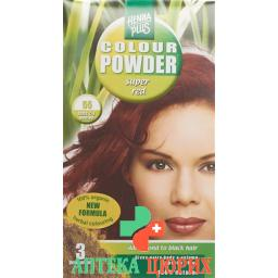 Henna Plus Color Powder 55 Super Rot 100г