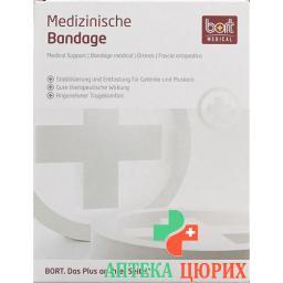 Bort Kniebandage -42см размер L телесный цвет