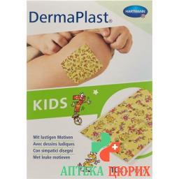 Dermaplast Kids 6смx10см 10 пластырей