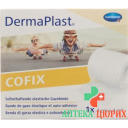 Dermaplast Cofix марлевый бинт 4смx4m Weiss