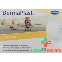 Dermaplast Cofix марлевый бинт 6смx20m Weiss