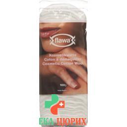 Flawa Classic Kosmetikwatte 100% хлопок 100г