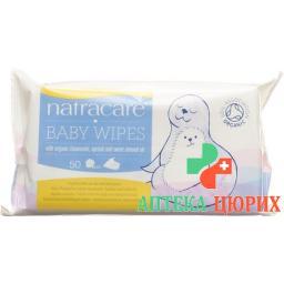 Natracare Pflegetucher Baby 50 штук