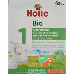 Холле органическая младенческая формула 1 на козьем молоке 60 грамм