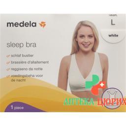Medela Schlaf Bustier L Weiss