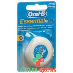 Oral B Essentialfloss 50m Ungewachst