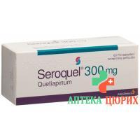 Сероквель 300 мг 100 таблеток покрытых оболочкой