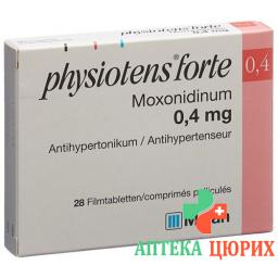 Физиотенс Форте 0.4 мг 28 таблеток