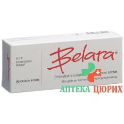 Белара 6 x 21 таблетка