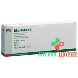 Mollelast эластичный Fixierbinde 4смx4m Weiss 20 штук
