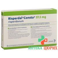 Риспердал Констасуспензия для инъекций 37,5 мг 1 инъекционный набор