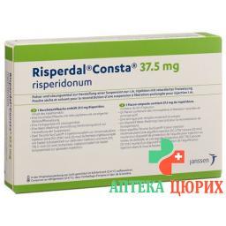 Риспердал Констасуспензия для инъекций 37,5 мг