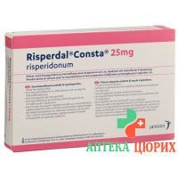 Риспердал Конста суспензия для инъекций 25 мг