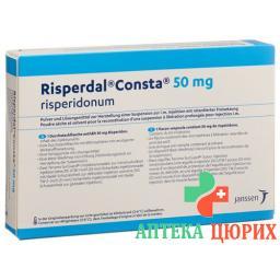 Риспердал Конста суспензия для инъекций 50 мг