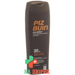 Piz Buin In Sun Allergy лосьон Sf 30 бутылка 200мл
